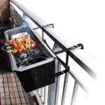 il barbecue da balcone