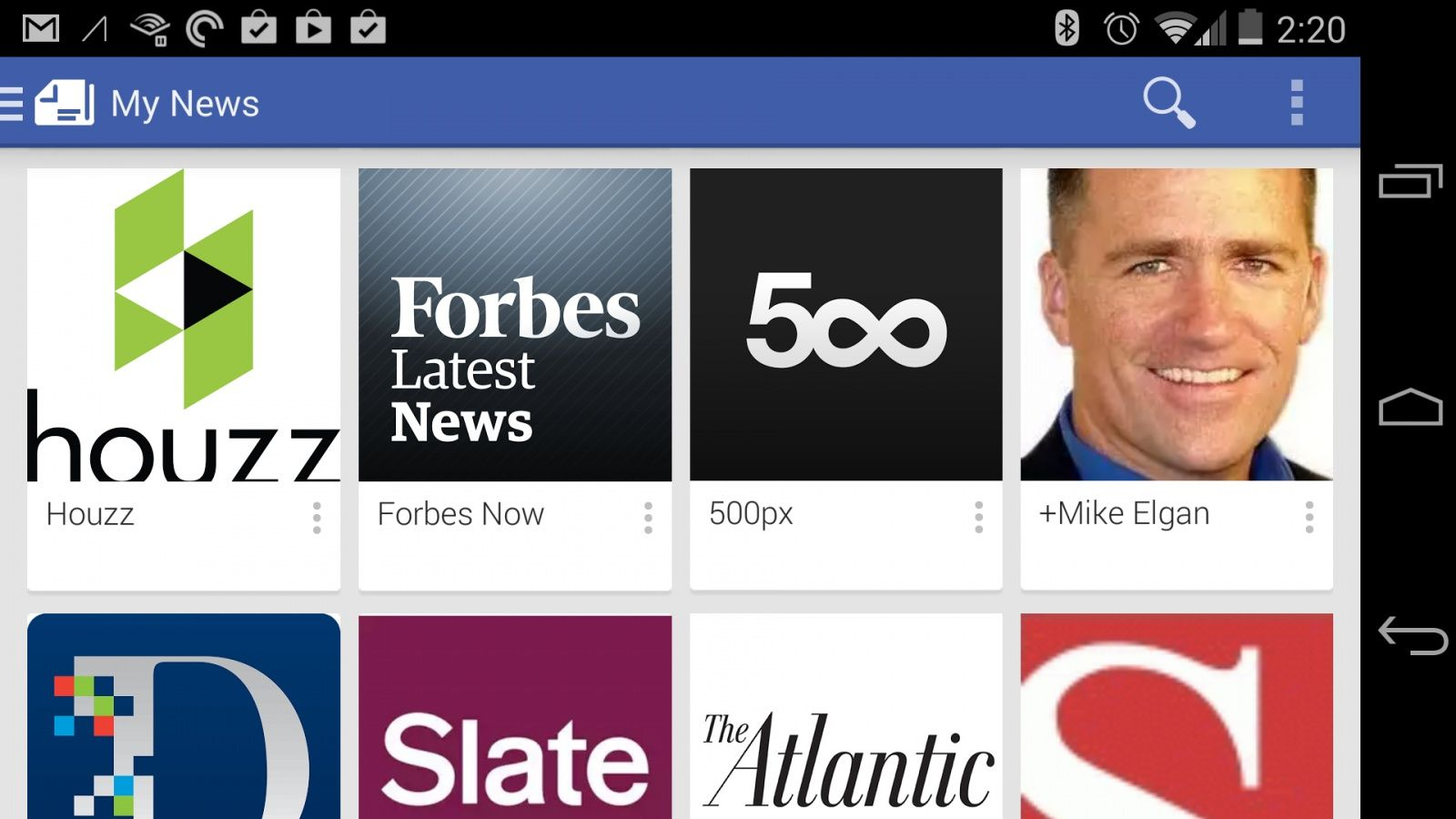Google Play Newsstand è arrivato