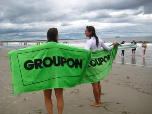 groupon pubblicità