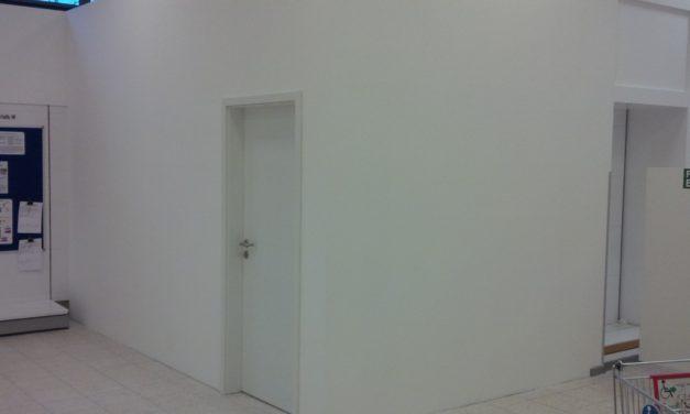 Imbiancare le pareti in cartongesso